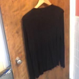 august silk Sweaters - Black cardigan Medium